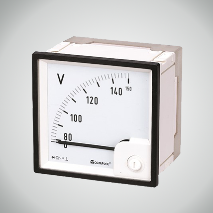 AC Voltmeter with rectifier 90°