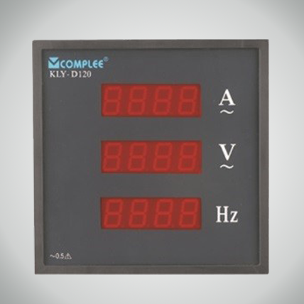 Digital Three-row Display Meter