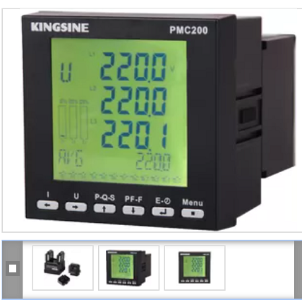 220VAC / 5A Multifunctional Power Meter for Power